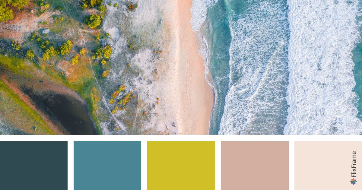 Color Inspiration, Ocean Hues
